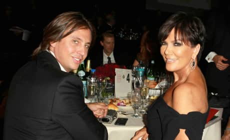Jonathan Cheban and Kris Jenner
