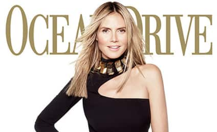 Heidi Klum Talks Nude Photos, Insured Legs, Life Lessons