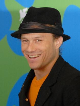 Heath Ledger Witha Hat