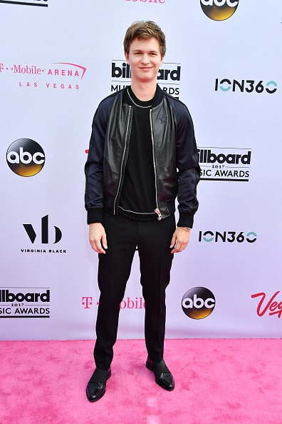 Ansel elgort at billboard music awards