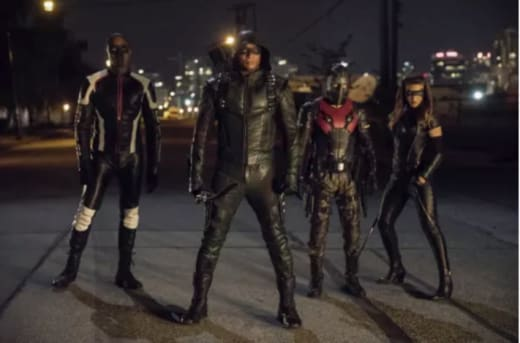 A New Team Arrow