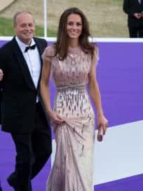 Kate Middleton Wears Jenny Packham to ARK Gala