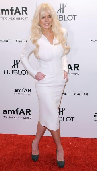 Lindsay Lohan, Body
