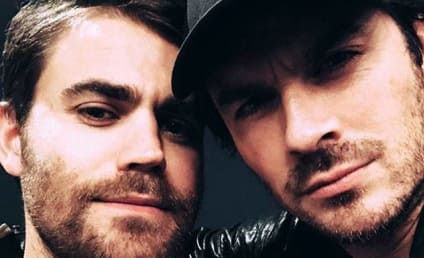 Ian Somerhalder Reunites with Paul Wesley, Vampire Diaries Fans Lose Any and All $hit