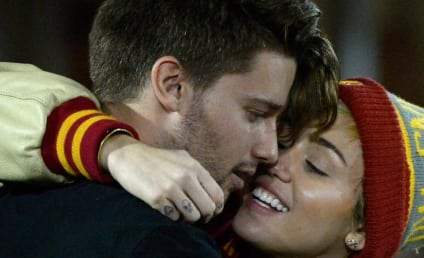 Patrick Schwarzenegger and Miley Cyrus: Caught Kissing on Camera!!!