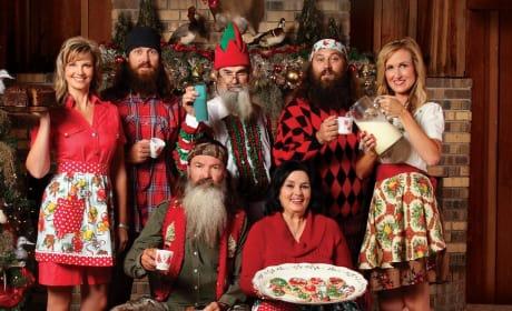 Duck Dynasty Cast Christmas Photo