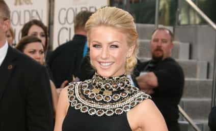 Golden Globe Fashion Face-Off: Julianne Hough vs. Leighton Meester