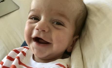 Jimmy Kimmel Son at 3 Months