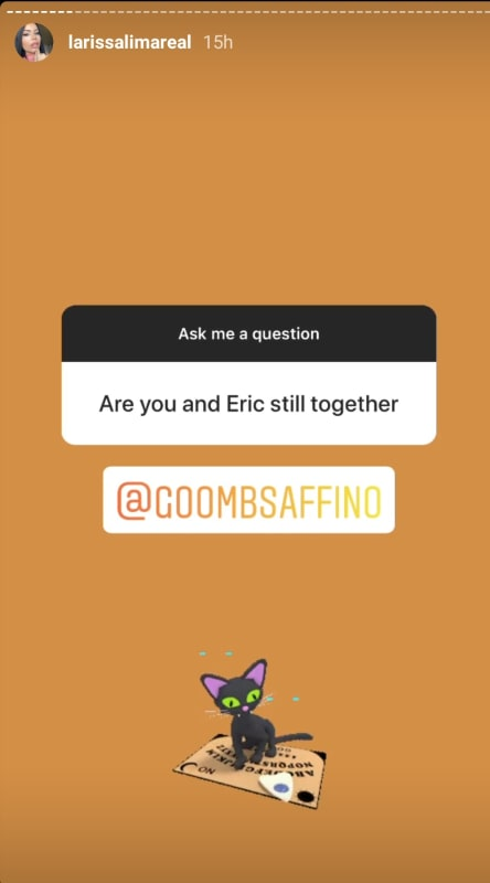 Larissa lima ig q and a 02 still with eric