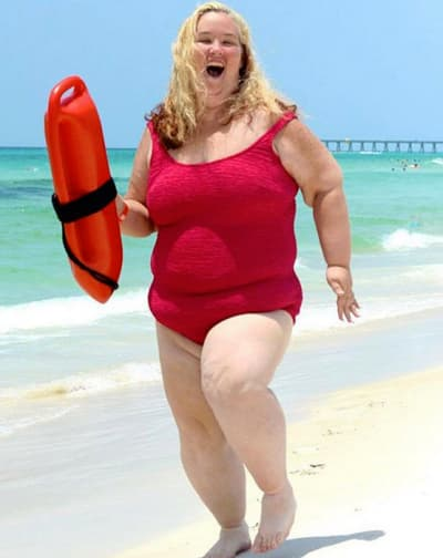 June Shannon Baywatch Throwback