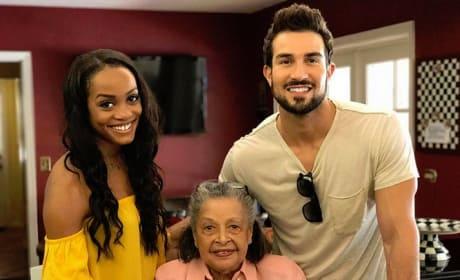 Rachel Lindsay, Bryan Abasolo and His Grandmother