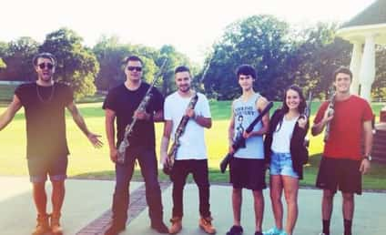 Liam Payne Gun Photo, Duck Dynasty Visit Draw Criticism From Fans on Twitter