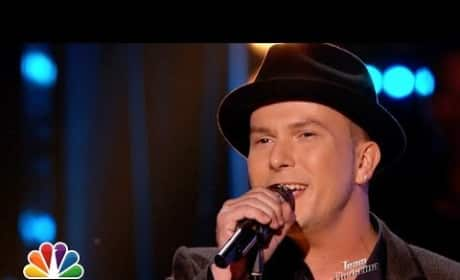 "Josh Logan: ""Man in the Mirror"" - The Voice"