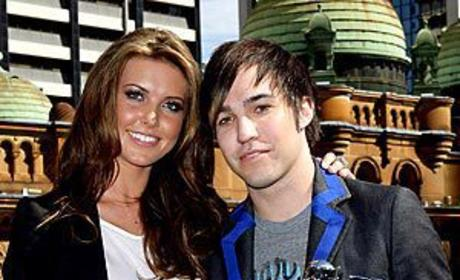 Audrina Patridge and Pete Wentz