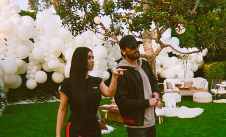 Kim Kardashian and Scott Disick Picture