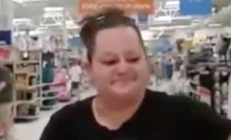 Woman Confronts Cheating Husband, Side Chick at Walmart and S--t Gets Real