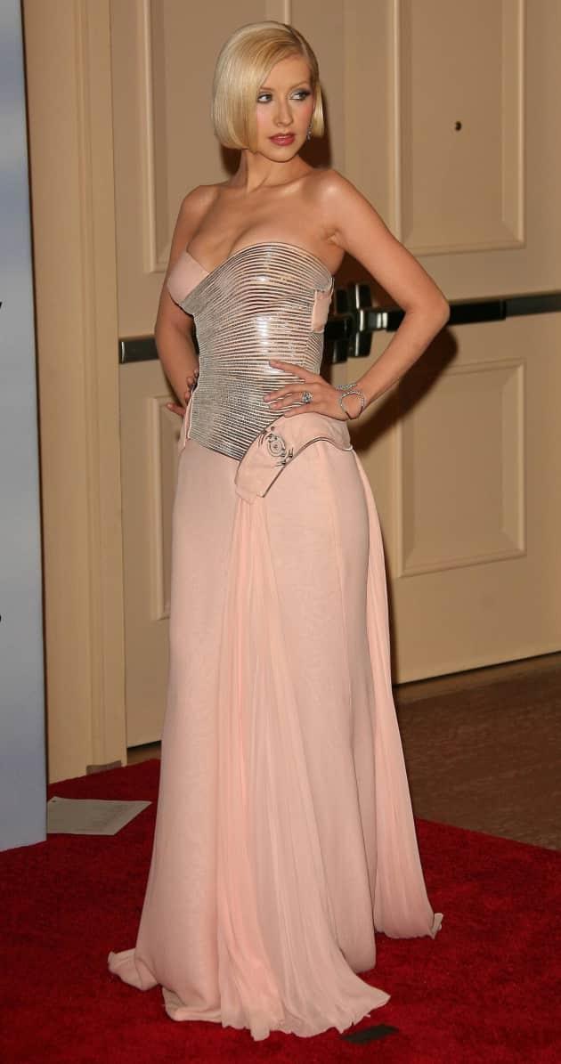 Thin Christina Aguilera