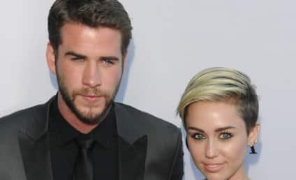 Liam Hemsworth Parties in Las Vegas, Miley Cyrus Nowhere in Sight