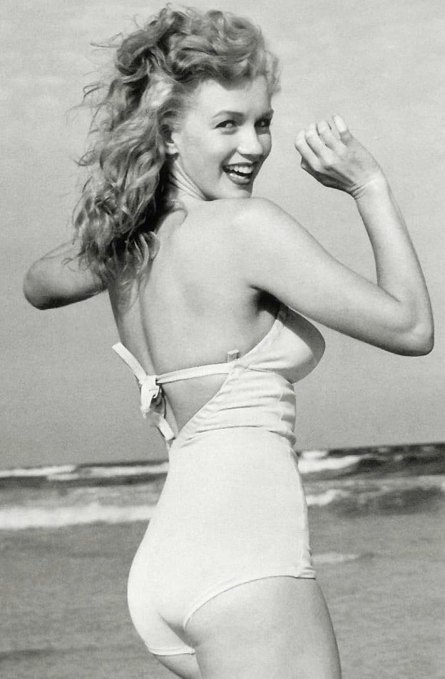 Marilyn Monroe Swimsuit Photo