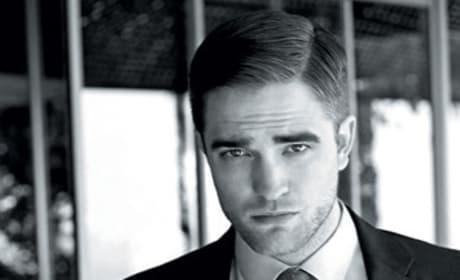 Robert Pattinson in Elle