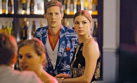 Emily and Nolan on Revenge