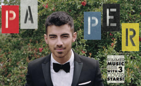 Joe Jonas in Paper Magazine