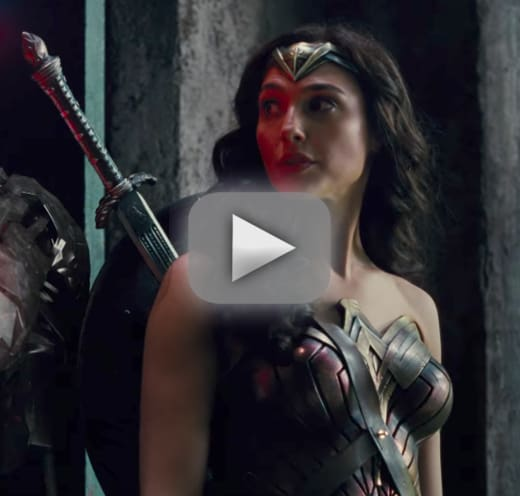 Justice league trailer whos all in