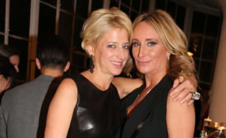 Dorinda Medley and Sonja Morga Film RHONY Season 8