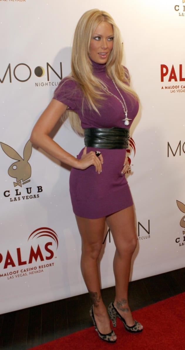 Jenna Jameson Purple Dress