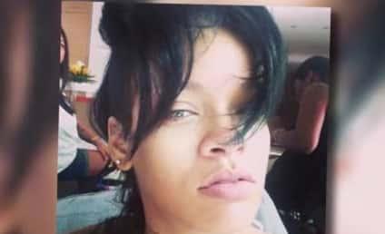 Rihanna No Makeup Selfie: All-Natural and Flawless