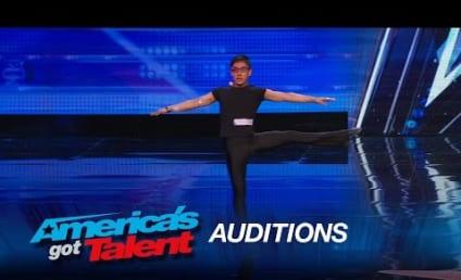 Watch This Blind Dancer Inspire Judges on America's Got Talent