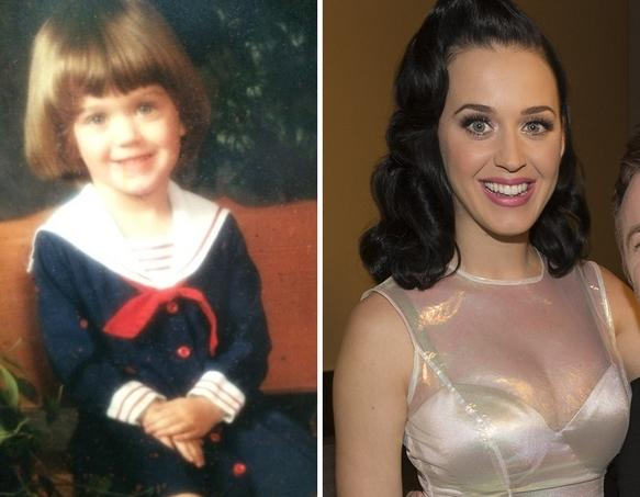 Katy Perry as a Kid