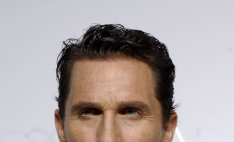 Matthew McConaughey Oscars Photo