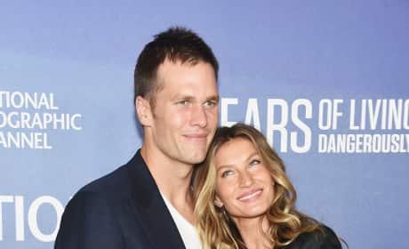 Tom Brady With Gisele Bundchen