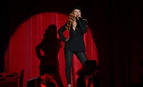 Christina Aguilera Performs During Hilary Clinton: Shes With Us! Concert