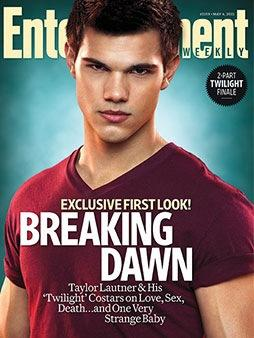 Taylor Lautner EW Cover