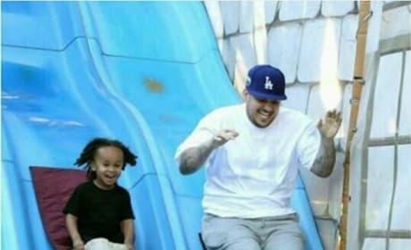 Rob Kardashian and King Cairo