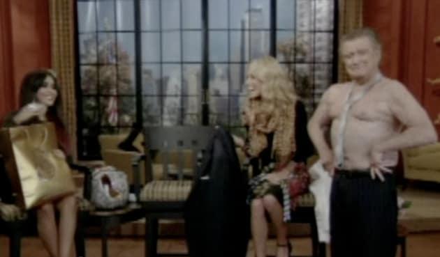 Regis Philbin Shirtless