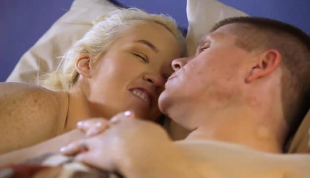 Geno Doak and June Shannon in Bed