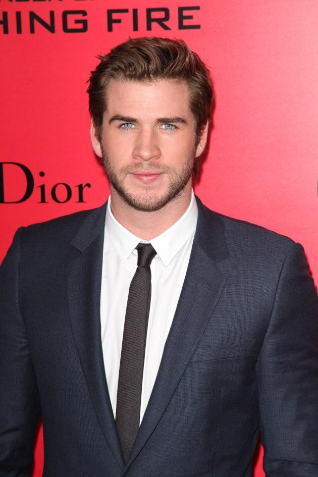 Liam Hemsworth in NY