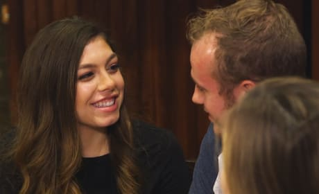 Lauren Swanson Smiles at Josiah Duggar