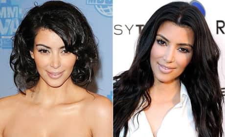 Which Kim Kardashian hairstyle do you prefer?