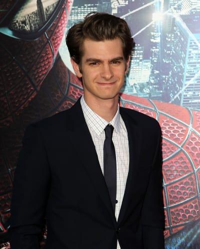Andrew Garfield at Spider-Man Premiere