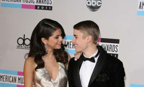 Justin with Selena