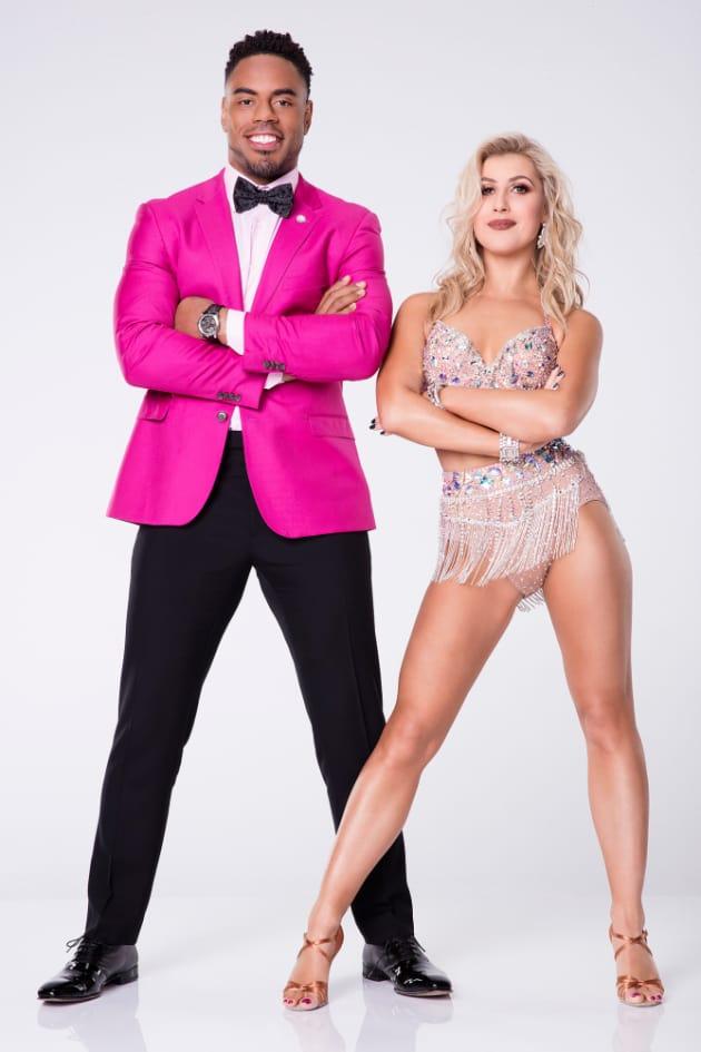 Rashad Jennings and Emma Slater