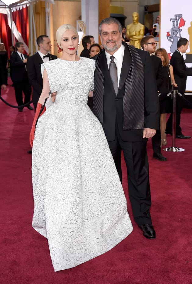 Lady Gaga and Her Father, Joe Germanotta - The Hollywood Gossip