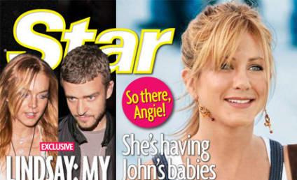 Bogus Angelina Jolie Gossip of the Week: Brad Pitt Bangs Jennifer Aniston Look-Alike!