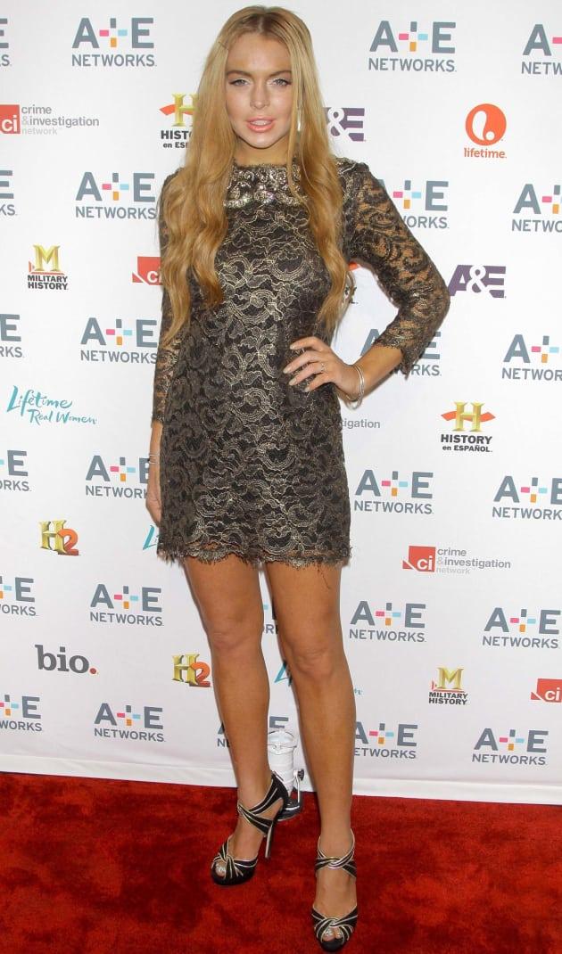 Lindsay Lohan, Bronzer