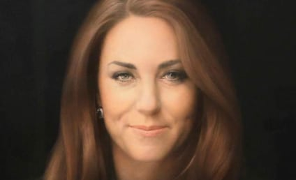 """Kate Middleton Portrait Redux: Second, More """"Upbeat"""" Version to Come!"""
