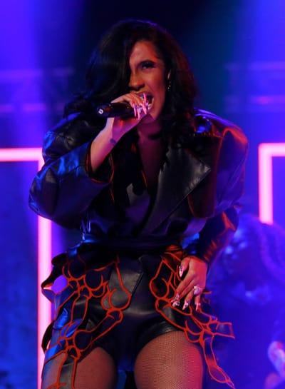 Cardi B on Stage